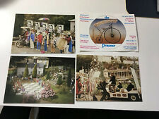 4 x INTERESTING POSTCARDS FROM PORTMEIRION - THE PRISONER. LOOK!