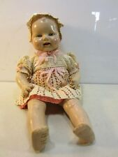 Vintage EIH Co. Horsman Baby Doll w/Crocheted Dress