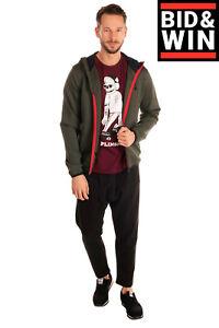 RRP €110 U.S.POLO ASSN. Track Jacket Size L Logo Detail Long Sleeve Hooded
