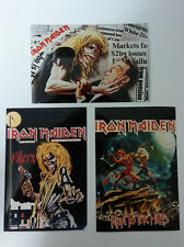 Iron Maiden metal vintage foto Photo pictures set 2