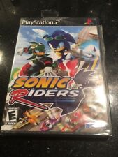 Sonic Riders PS2 PlayStation 2 Brand new Factory sealed Ripped Top Pictured
