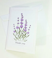 Thank You Cards Notes Flower Wedding Business Birthday Thankful AT THANK38