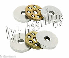 2 Thrust Miniature Bearing 10mm x 18mm x 5.5 Bearings