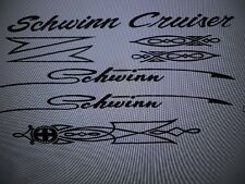 Schwinn Cruiser Decal Set