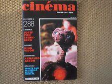 ET E.T. SPIELBERG CINEMA 1982 RIVISTA FRENCH MAGAZINE 82 FILM