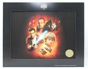 Star Wars Episode 1 The Phantom Menace Official Lithograph 2000 Lucasfilm 8x10