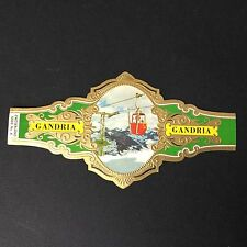 Grande Bague Cigare Geniet Van Lugano Gandria Cigar Bauchbinden Sigarenbanden