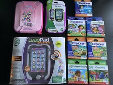 LeapFrog LeapPad Ultra XDi Learning Tablet + 7 Games & 2 Cases Brand New RRP£180