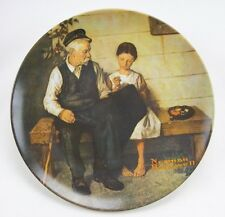 Knowles-The Lighthouse -Norman Rockwell Heritage Coll.-Nle-1980 plate-Usa-New!