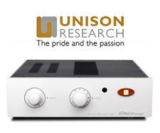 Unison Research Unico Secondo Hybrid Valve Amplifier in Silver