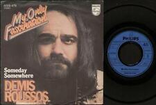 """DEMIS ROUSSOS My Only Fascination  7"""" Ps, B/W Someday Somewhere, 6009 479 (Vinyl"""