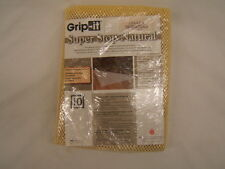 Grip-it Rug Stop Natural 4 x 4  Keeps Area Rugs in Place NIB