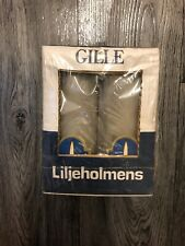 6 Boxes Of Liljeholmens Grey Pillar Candles Swedish 120mm High 14 Hours Burn