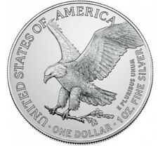 2021☆TYPE 2☆ 1OZ $1 American Silver Eagle Straight from tubes& n flip ☆PREORDER☆