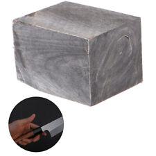 1pc Black Buffalo Horn Raw Seal Material Handle Kitchen Knife Handguard Mat _L!Y