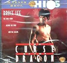 Mega Rare Hong Kong Bruce Lee THE CURSE OF THE DRAGON 2 Disc VCD
