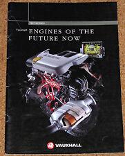 1995 OPEL motores del futuro folleto de ventas-Ecotec, e-Drive, víboras