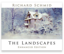 THE LANDSCAPES (new) ENHANCED EDITION by RICHARD SCHMID 1st printing 11/2017 HC