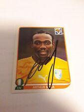 Panini Sticker WM 2010 signiert Arthur Boka Elfenbeinküste NEU