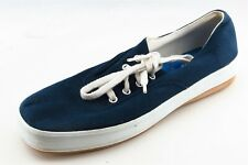 Keds Size 8.5 M Blue Lace Up Fashion Sneakers Fabric Wmn Shoe