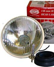 "5 3/4"" H5001 H1 HIGH BEAM EURO CONVEX CURVED HEADLIGHTS"