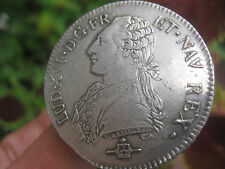 French silver ECU coin Louis XVI, 1783, bold EF