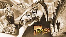 Grim Fandango Llave PC de Steam código nuevo juego remasterizado descarga rápida región libre