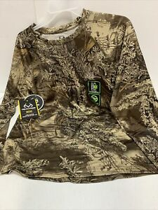 REALTREE Long Sleeve Insect Repellent Tee Size 2 XL  50/52