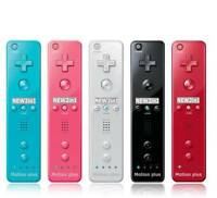 Multicolor Wii Inside Remote Controller with 2 in1 Wiimote Built in Motion Plus