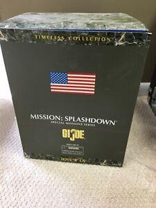 "GI JOE Toys ""R"" US Exclusive Mission SPLASHDOWN ASTRONAUT SPACE CAPSULE Rare"