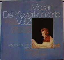 MOZART Klavierkonzerte Nr. 18 26 & 23 - Annerose SCHMIDT - MASUR - Doppel-LP FOC