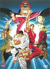 Street Fighter II V Collection (DVD, 2003, 4-Disc Set) Anime