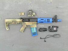 1/6 scale toy FBI Hostage Rescue - Training - Blue Training AR-15 Rifle Set