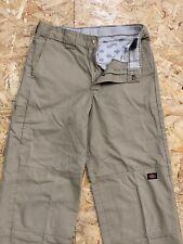 Dickies Work Combat Cargo Trousers Pants Slacks Beige W26 X L28 Straight Leg