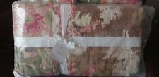 Pottery Barn Carolina Floral Patchwork Reversible Full Queen Quilt only New