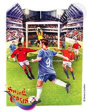 """3D Swing Cards by Santoro """"Soccer Game"""" - #SG-SC-062"""