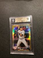 2017 AARON JUDGE  BOWMAN CHROME GOLD REFRACTOR ROOKIE BGS 10 PRISTINE