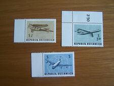 AUSTRIA,1968, AIRMAIL EXHIBITION,3 VALS,U/MINT,EXCELLENT.