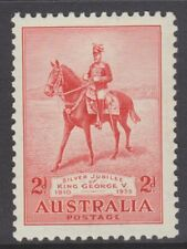 1935 Silver Jubilee King George V 2d Red MUH SG 156 (22C)