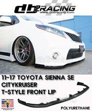 CITYKRUISER T-Style Front Lip SE V2 (Urethane) Fits 11-17 Toyota Sienna SE