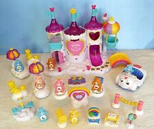 CARE BEARS (2003) Care-A-Lot MAGICAL CASTLE Playset w/ LIGHTS/SOUNDS & EXTRAS!