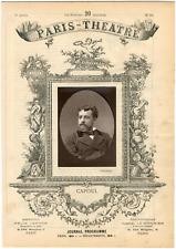 Cliché Liebert, Paris-Théâtre, Joseph-Amédée-Victor Capoul (1839-1924), ténor fr