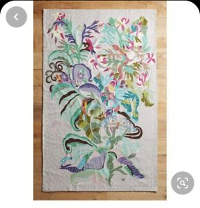 Shelley Hesse Anthropolgie Paradise Found Rug Tapestry New RRP £398