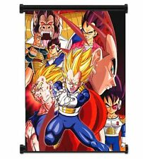 Anime Home Decor Dragon Ball Z Vegeta Anime Fabric Wall Scroll Poster 21X30CM