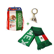 Mexico FIFA Official Russia 2018 World Cup Official  Cinch Bag Scarf Mexican