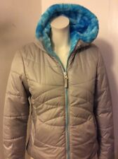 Slalom Reversible Hooded Winter Jacket Girls Size 10-12, excellent