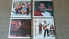 BO DIDDLEY - 4  x 45s In Picture Sleeves - ORIGINAL, RARE & ALTERNATE Versions