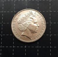 2015 AUSTRALIAN 20 CENT COIN