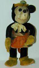 "Walt Disney Minnie Mouse Velveteen Deans Rag Book Doll 9"" Tall 1934 RARE!"