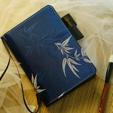 A6 Bamboo Theme Creative Lovely Journal Cover Cloth and PU Hobonichi Style
